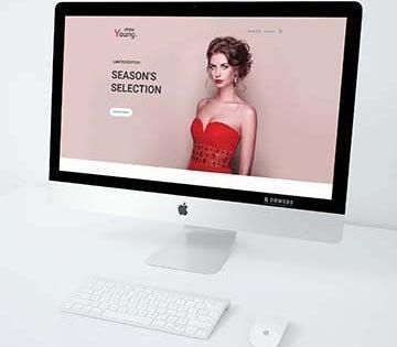 Logo & Web Design – DressYoung
